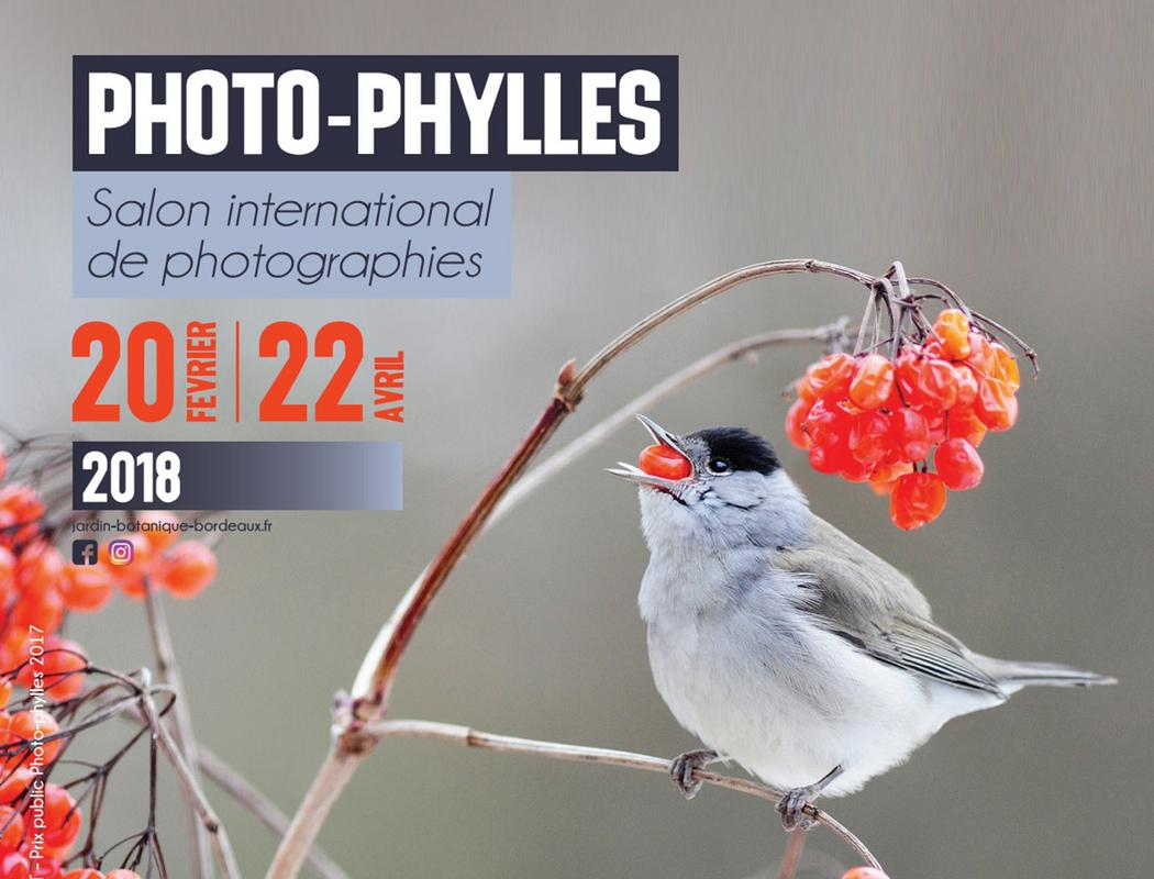 11e édition du Salon international de photographies nature au Jardin botanique de Bordeaux
